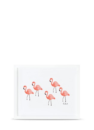 Main View - Click To Enlarge - Rifle Paper Co. - Flamingo art print