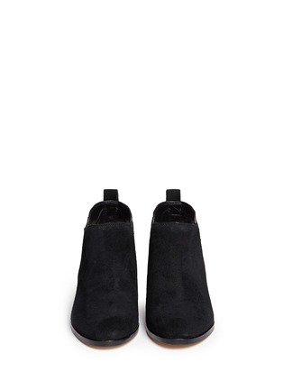 Figure View - Click To Enlarge - Michael Kors - Krista' stud suede Chelsea boots