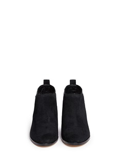 MICHAEL MICHAEL KORS'Krista' stud suede Chelsea boots