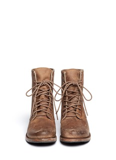 FREEBIRD 'Charlie' distressed leather engineer boots