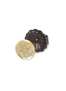 ILA&I 'Petite Zahia' diamond 14k gold round stud earrings