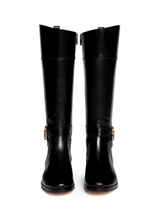 Figure View - Click To Enlarge - Michael Kors - Aileen' leather boots
