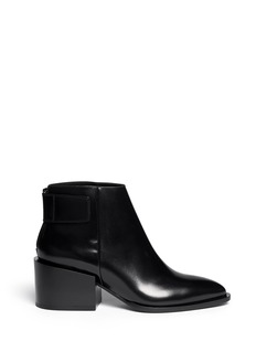 VINCE'Laird' extended heel leather ankle boots
