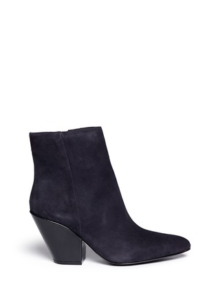 Main View - Click To Enlarge - Ash - Elektra' suede ankle boots