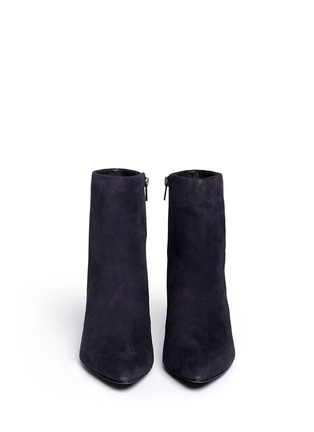 Figure View - Click To Enlarge - Ash - Elektra' suede ankle boots