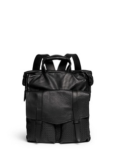 JAS M.B.'Spartacus' leather backpack