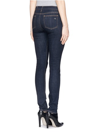 Back View - Click To Enlarge - rag & bone/JEAN - 'Heritage' high rise skinny jeans
