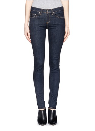 Main View - Click To Enlarge - rag & bone/JEAN - 'Heritage' high rise skinny jeans