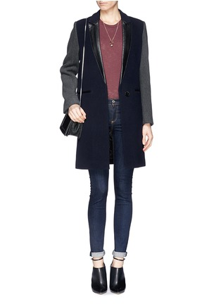 Figure View - Click To Enlarge - rag & bone/JEAN - 'Heritage' high rise skinny jeans