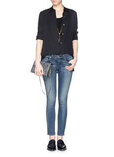 RAG & BONE/JEAN'Capri' water ripple skinny jeans
