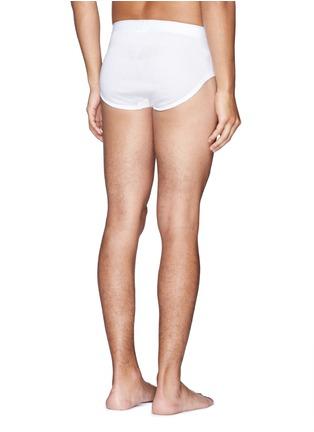 背面 - 点击放大 - SUNSPEL - 纯棉蜂窝孔三角内裤