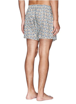 Sunspel - Liberty abstract floral print trunks