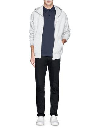 模特儿示范图 - 点击放大 - SUNSPEL - RIVIERA纯棉polo衫