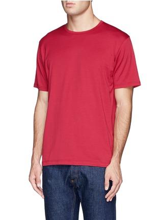 正面 -点击放大 - SUNSPEL - 纯色圆领T恤