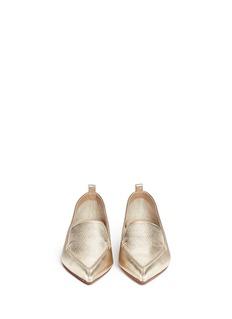 NICHOLAS KIRKWOODMetallic leather loafers