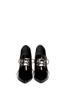 JASON WU Metal plate leather booties