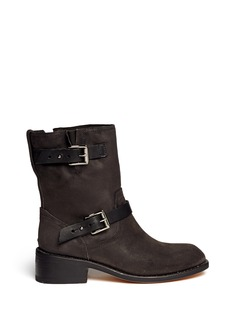 RAG & BONE'Andover' buckle strap leather boots