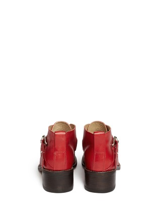 Back View - Click To Enlarge - rag & bone - Nevin' monk strap leather ankle boots