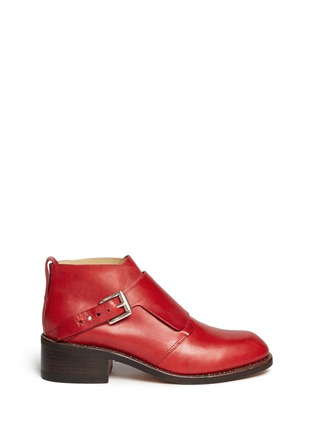 Main View - Click To Enlarge - rag & bone - Nevin' monk strap leather ankle boots