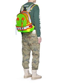 Heron Prestonx DSNY neon backpack