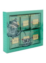 Famous tea bag selection