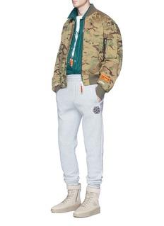 Heron Preston Camouflage print padded bomber jacket
