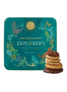 Fortnum & Mason Explorers biscuit selection