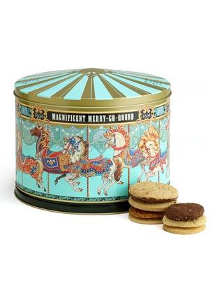 Fortnum & Mason-Merry-go-round musical biscuit tin