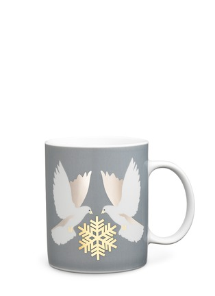Main View - Click To Enlarge - KATE BARNETT - Dove print porcelain mug