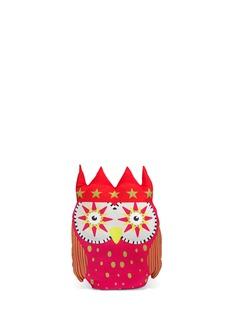 KATE BARNETTOwl padded cushion - Pink
