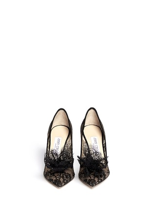 Figure View - Click To Enlarge - Jimmy Choo - Domino' floral lace pumps