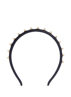 VALENTINO'Rockstud' leather headband