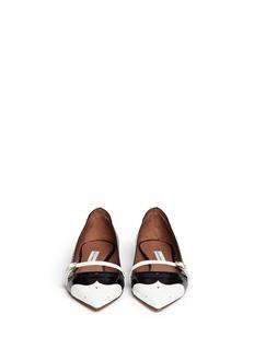 TABITHA SIMMONS'Belfy' wingtip brogue leather flats