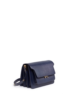 Marni 'Trunk' saffiano leather shoulder bag
