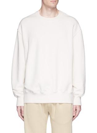 Main View - Click To Enlarge - Yeezy - Oversized sweatshirt