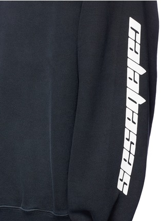 Detail View - Click To Enlarge - Yeezy - 'Calabasas' print sweatshirt