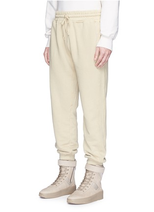 Front View - Click To Enlarge - Yeezy - Relaxed fit French terry sweatpants