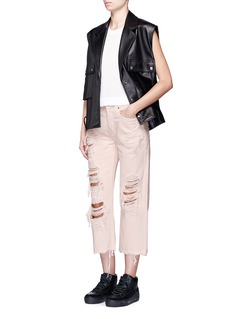 Alexander Wang 'Rival' distressed cropped jeans