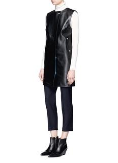 Acne Studios'Civalo' calfskin leather sleeveless dress