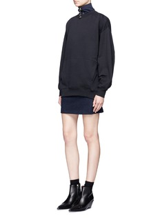 Acne Studios'Karvel' oversized cotton sweatshirt