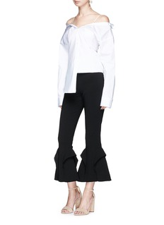 Nicholas Frill cady crepe flared pants