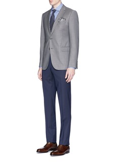 ISAIA 'Dynamic Comfort' wool blend pants