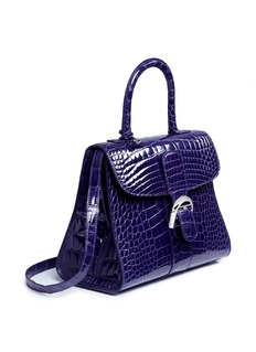 Delvaux 'Brillant MM' alligator leather satchel