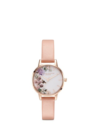 Main View - Click To Enlarge - Olivia Burton  - 'Enchanted Garden' floral print 30mm watch