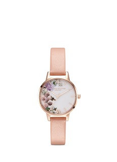 Olivia Burton  'Enchanted Garden' floral print 30mm watch