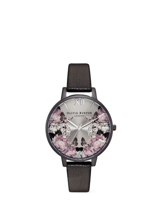 Main View - Click To Enlarge - Olivia Burton  - 'After Dark' floral print 38mm watch