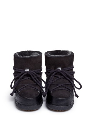 Front View - Click To Enlarge - INUIKII - 'Classic' sheepskin shearling boots