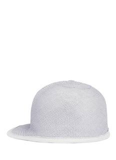 Clyde'Miller' Panama straw baseball cap
