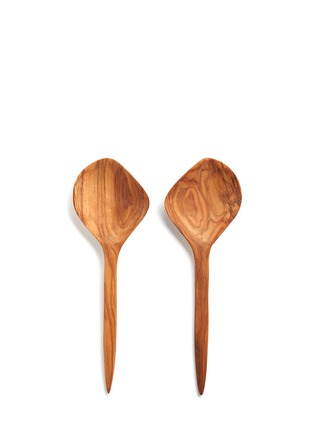 CHABI CHIC - Olive wood salad spoon set