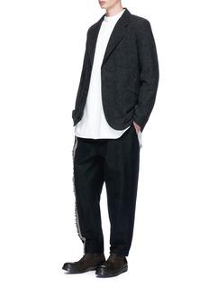 Uma Wang 'Pigiama' contrast stripe jogging pants